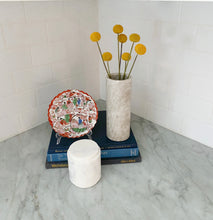 Load image into Gallery viewer, Sandy Brown Marble Vase
