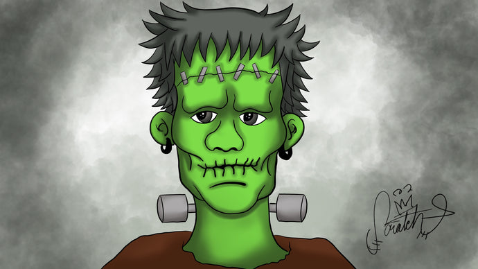 Happy Hallows From Frankenstein