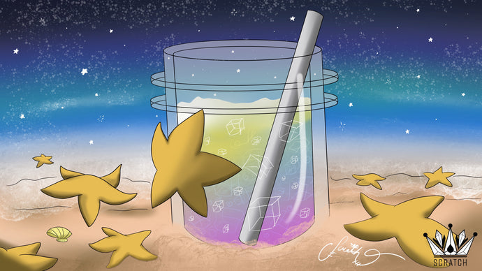 #ArtSmash - Starfish, Metal Straw, and Party