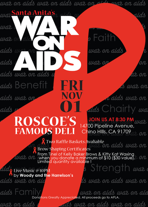 Flyer:// War on Aids