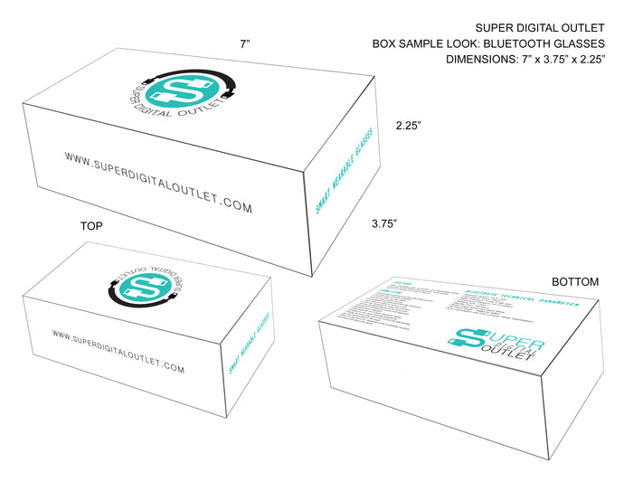 PACKAGE DESIGN:// SDO - Bluetooth Glasses Package