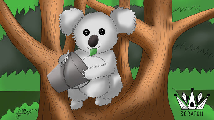 #ArtSmash - Koala, Home, Bucket