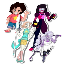 Load image into Gallery viewer, Sticker:// Crystal Gems