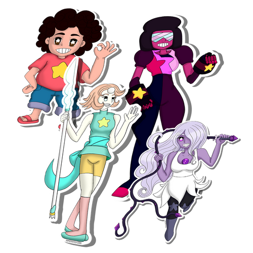 Sticker:// Crystal Gems