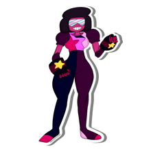 Load image into Gallery viewer, Sticker:// Garnet