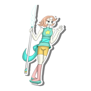 Sticker:// Pearl