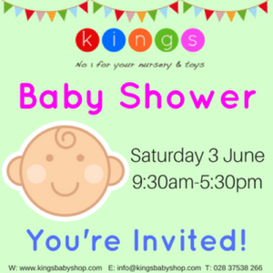 Shnuggle to Visit King's Baby Shower
