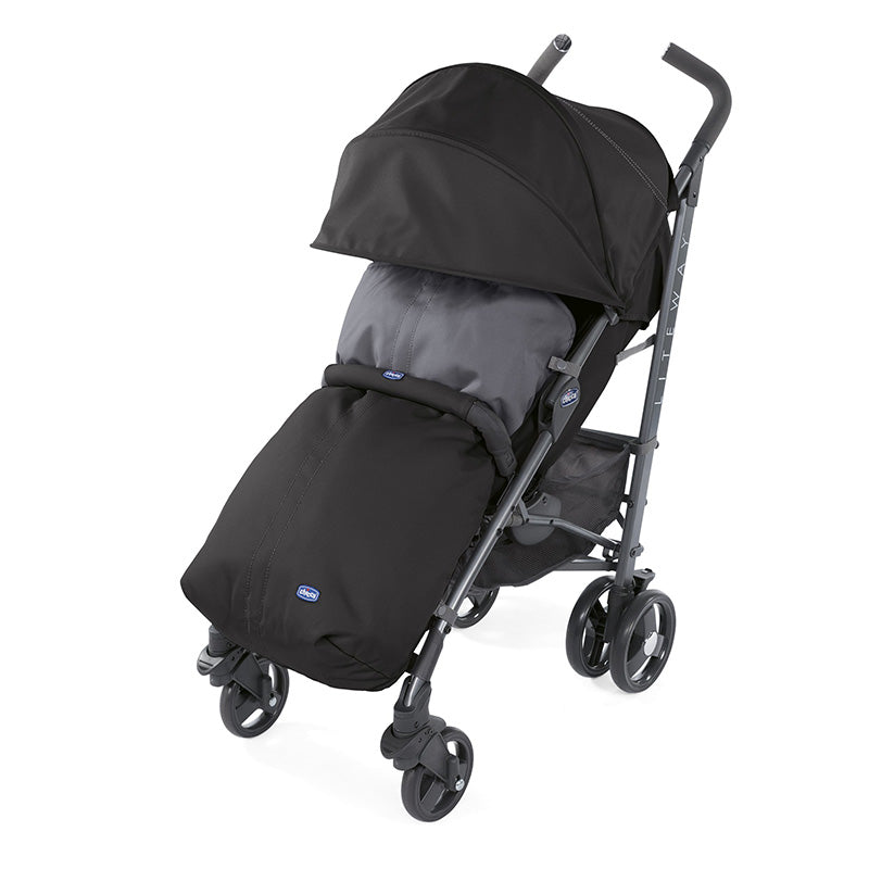Chicco Liteway 3 + Bumper Bar Jet Black