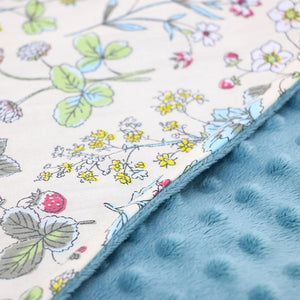 Little Love Wildflower Cot Blanket