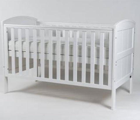 Stockholm Cot Bed - White
