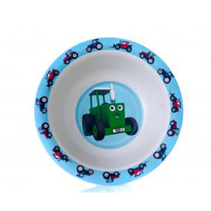 Tractor Ted bamboo bowl tractor