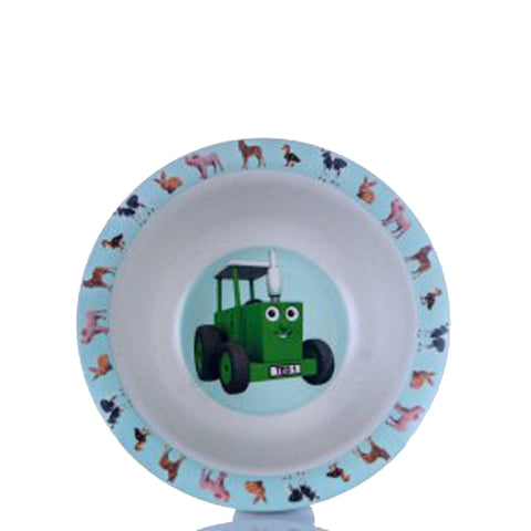 Tractor Ted bamboo bowl baby animals