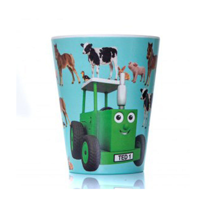 Tractor Ted bamboo beaker baby animals