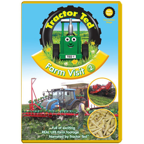 tractor ted farm visit 2 DVD