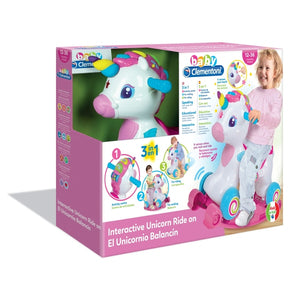 Clementoni Unicorn Ride On