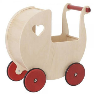 Moover wooden pram neutral