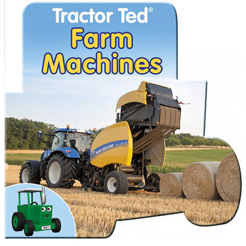 tractor tedfarm machines board book