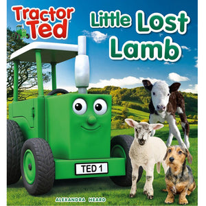 tractor ted little lost lamb storybook