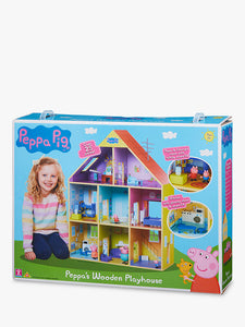 Peppa Pigs Wooden Playhouse