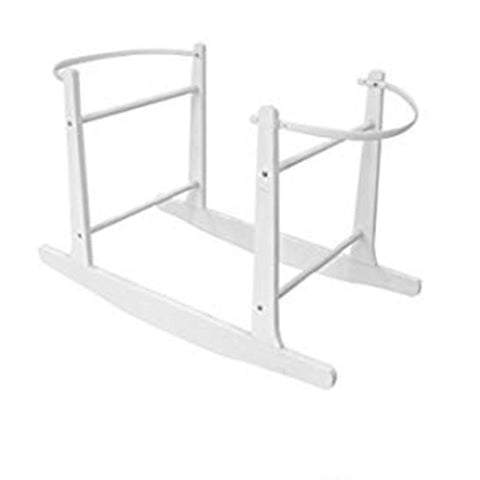 Rocking Wooden Stand - White