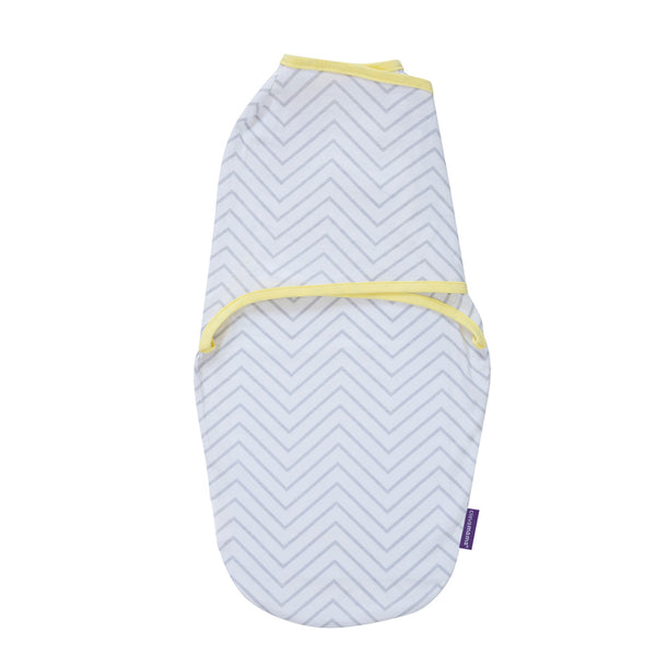Swaddle to Sleep -Soft Grey/Yellow(0-3m)