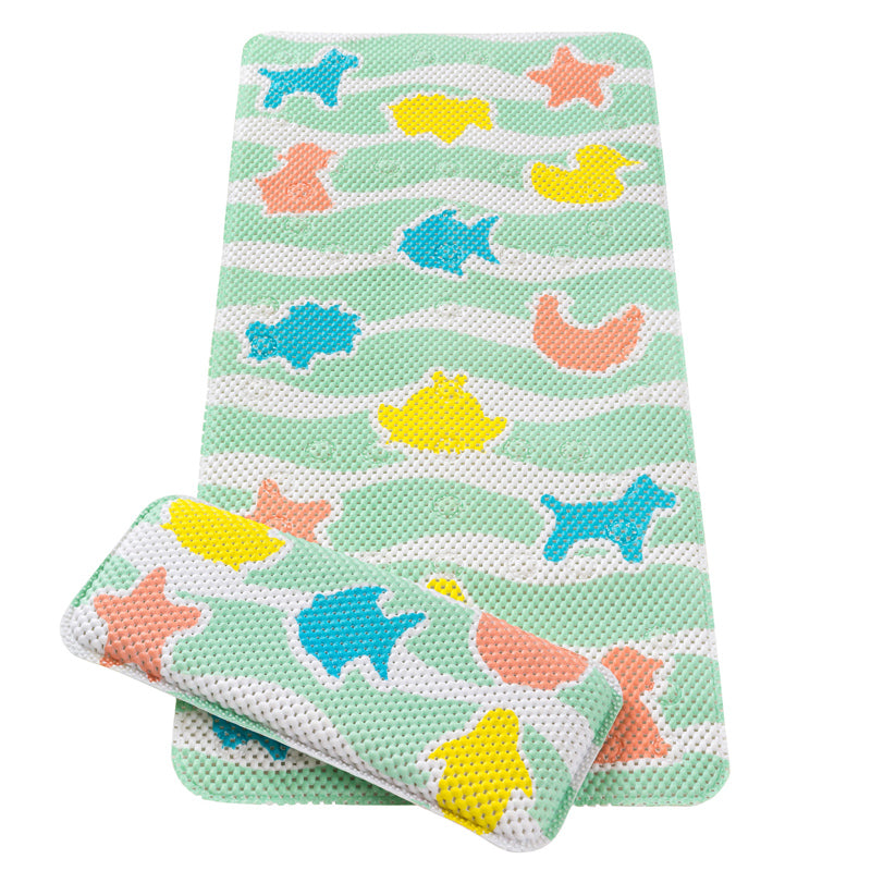 Bath Mat & Kneeling Cushion