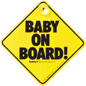 Safety1st Baby on Board Sign