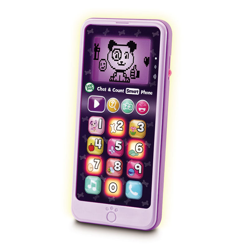 Chat & Count smart phone Violet