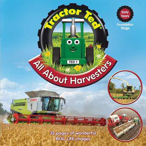 tractor ted about harvesters picture book