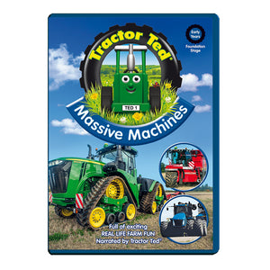Tractor Ted Massive machines  DVD