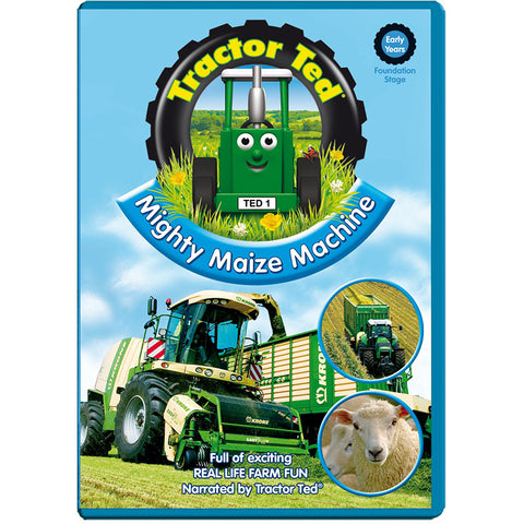 tractor ted mighty maize machines DVD