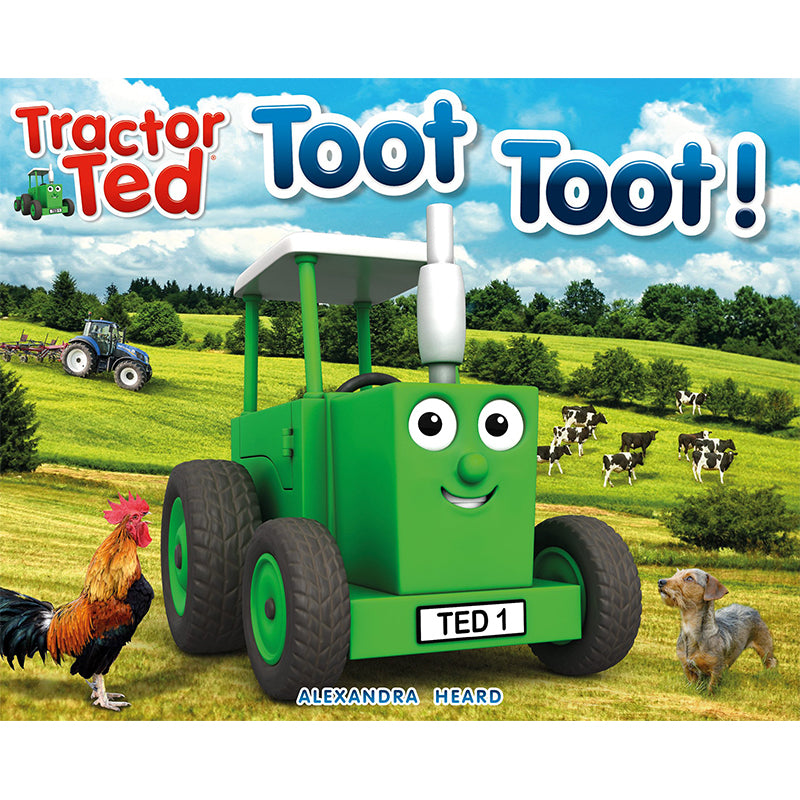 Tractor Ted Toot Toot Book