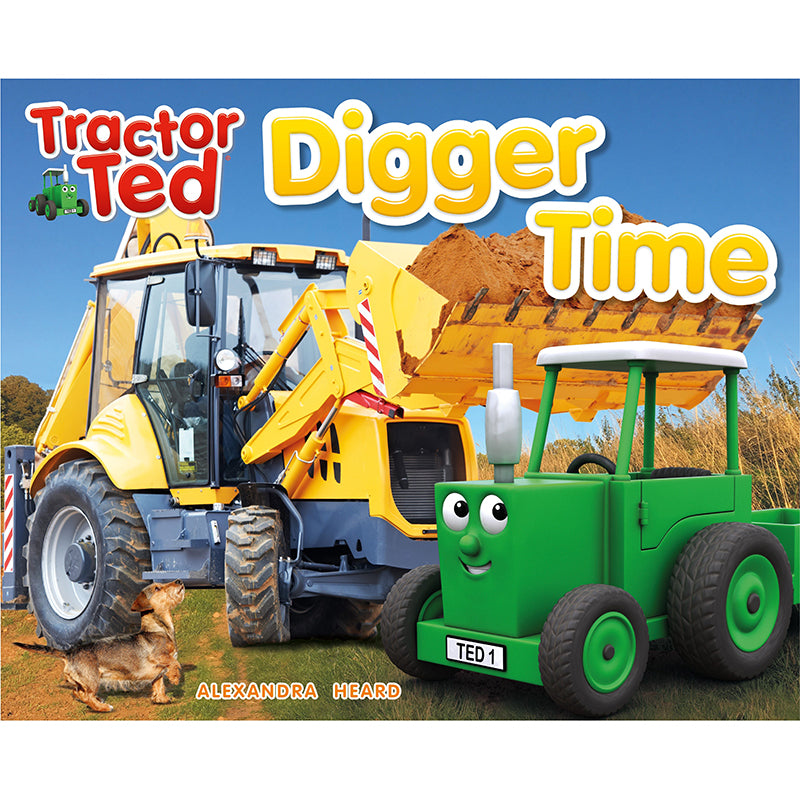 tractor ted digger time picture book