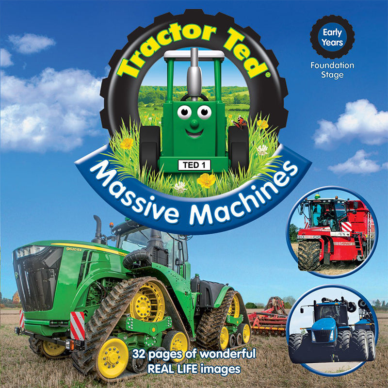 tractor ted massive machines picture book