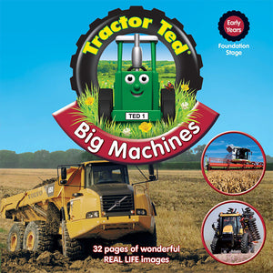 tractor ted big machines picture book