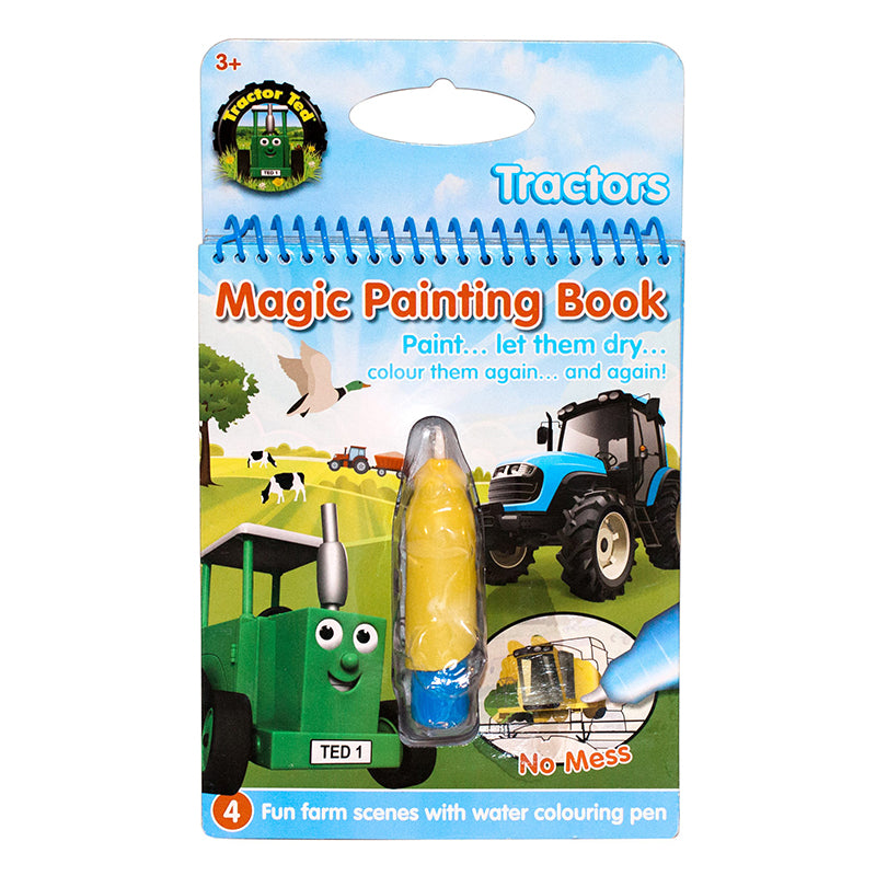 tractor ted magic painting activity book