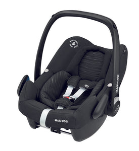 Rock Car Seat Scribble Black