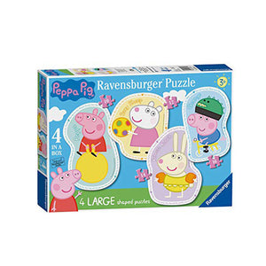 Peppa Pig Shaped Puzzle