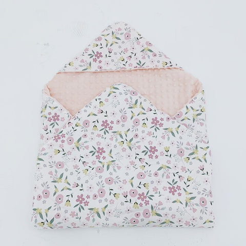 Little Love 3 Point car seat blanket BLOSSOM