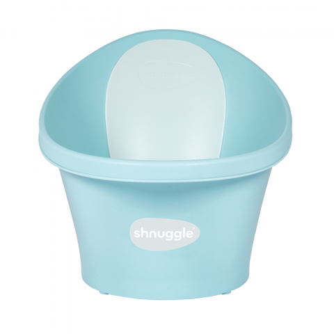 Shnuggle Bath With Plug- Aqua