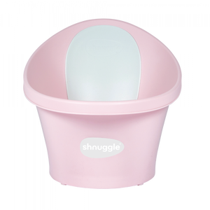 New Shnuggle Bath With Plug- Rose