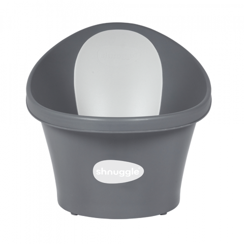 New Shnuggle Bath & Plug- Slate Grey