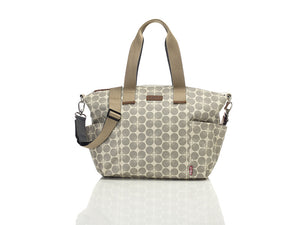 Babymel Evie Floral Dot Bag Grey