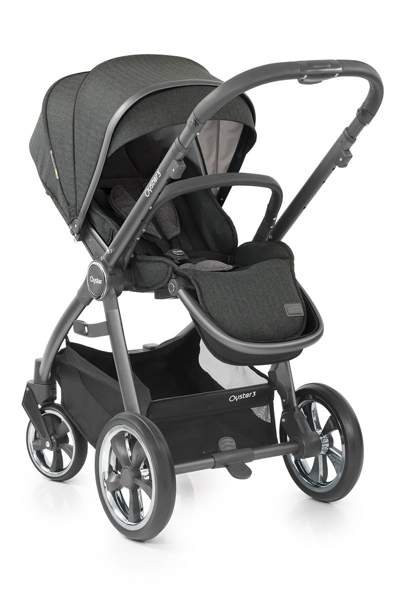 Oyster3 Seat Unit Pepper (City Grey)