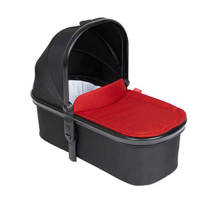 p&t carrycot lid - chilli