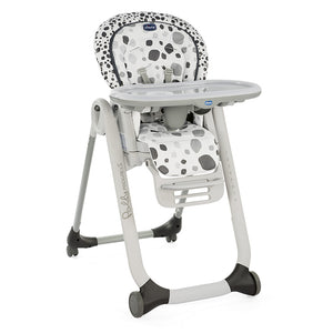 Chicco Polly Progress Highchair - Anthracite