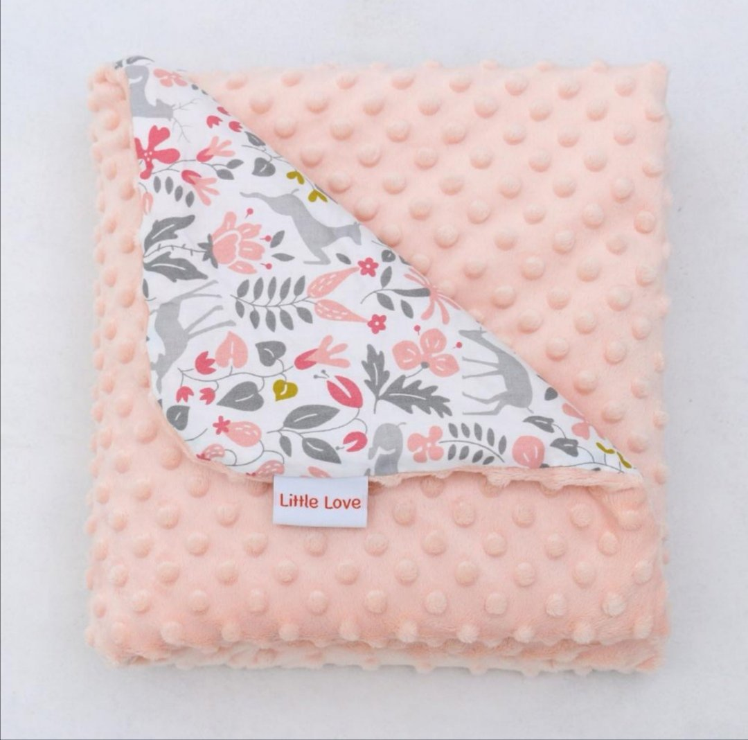 Little Love Little Deer Cot Blanket