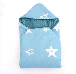 Little Love 5 Point car seat blanket BLUE STAR