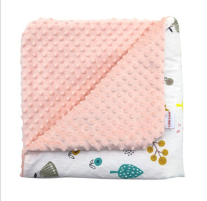 Little Love CarSeat Blanket Woodland
