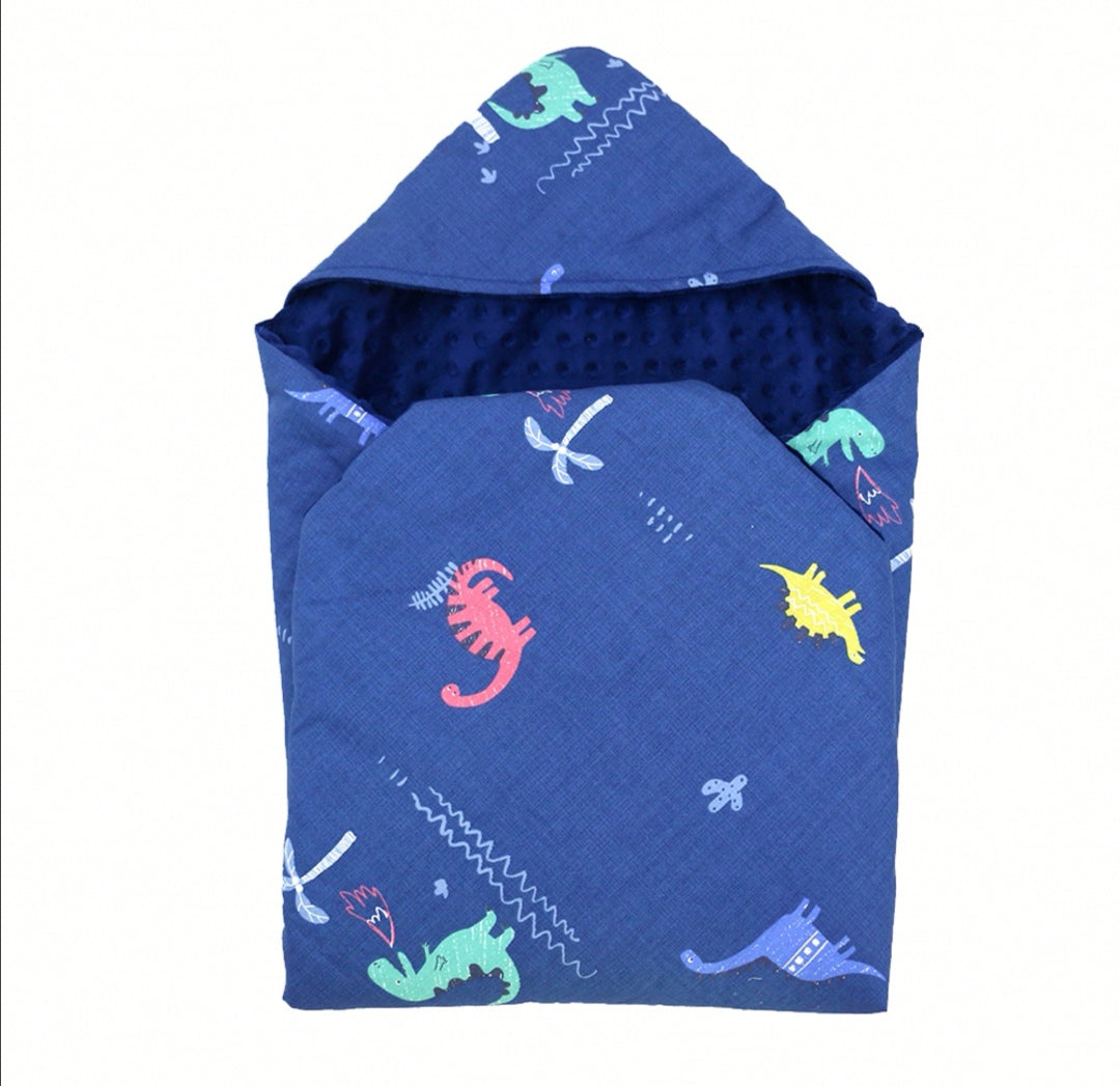 Little Love Car Seat Blanket Dinosaurs